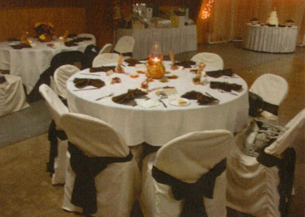Millbury Fire Hall Tables